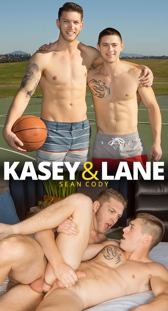 Sean Cody: Kasey returns to fuck Lane bareback