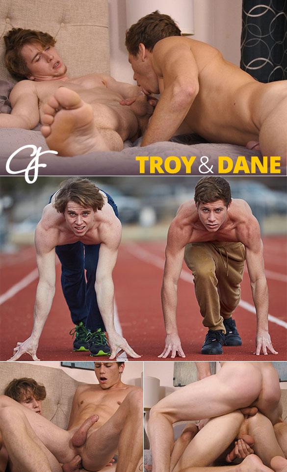Corbin Fisher: Dane rides newcomer Troy bareback