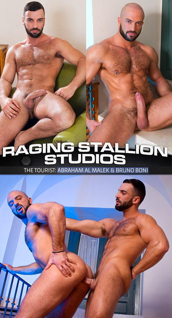 """Raging Stallion: Abraham Al Malek pounds Bruno Boni in """"The Tourist"""""""