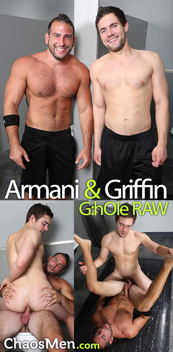 ChaosMen: Armani and Griffin fuck each other raw