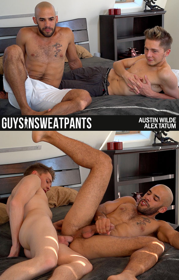 Sexy austin wilde rimming and sucking