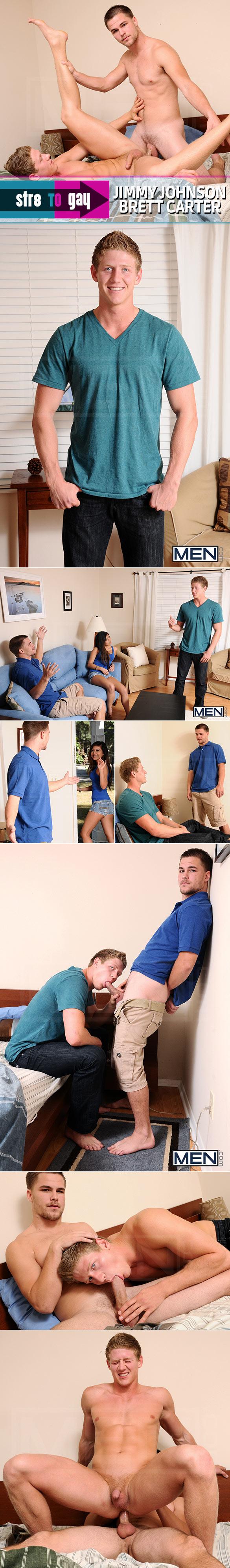 "Men.com: Jimmy Johnson fucks Brett Carter in ""Blocking The Roommate"""