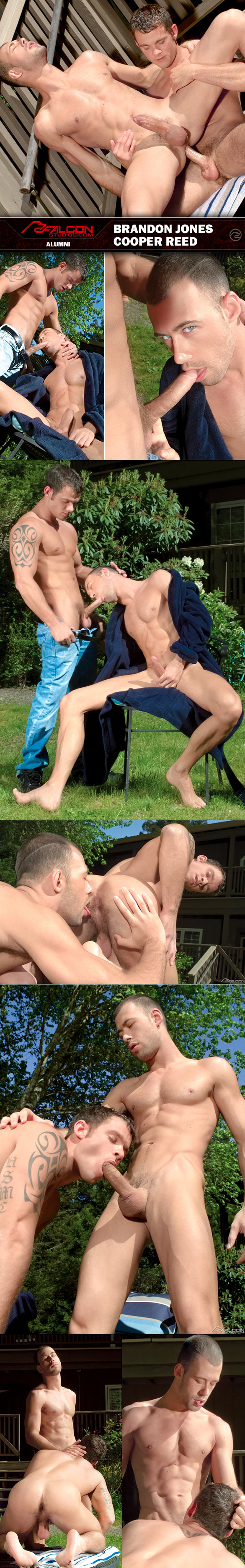 "Falcon Studios: Cooper Reed fucks Brandon Jones in ""Alumni"""