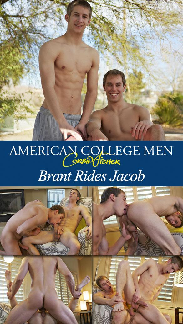 Corbin Fisher: Jacob barebacks Brant