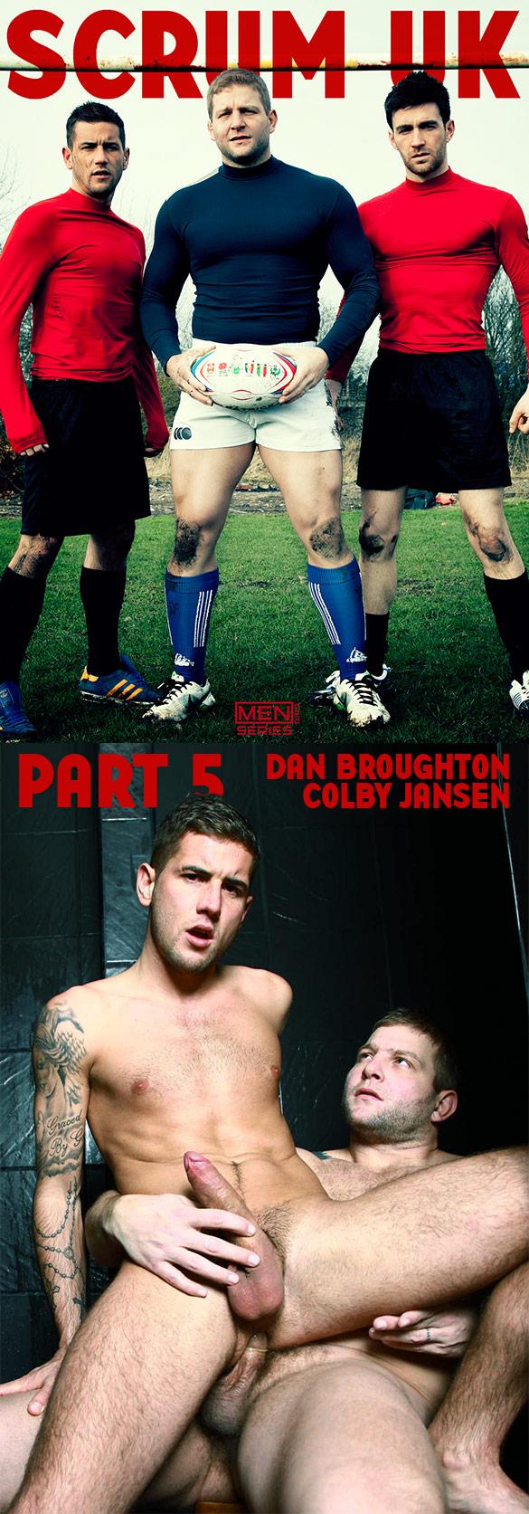 """Men.com: Colby Jansen fucks Dan Broughton in """"Scrum, Part 5"""""""