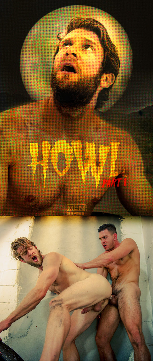 "Men.com: Paddy O'Brian pounds Colby Keller in ""Howl, Part 1"""