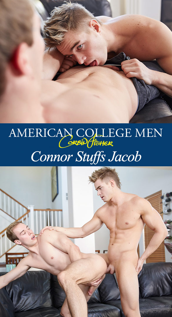 Corbin Fisher: Connor fucks Jacob raw