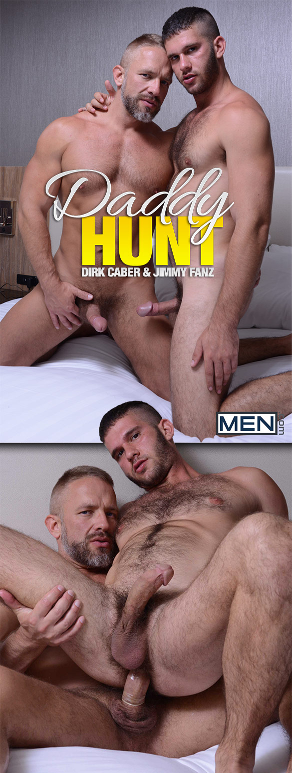 "Men.com: Dirk Caber fucks Jimmy Fanz in ""Daddy Hunt"""
