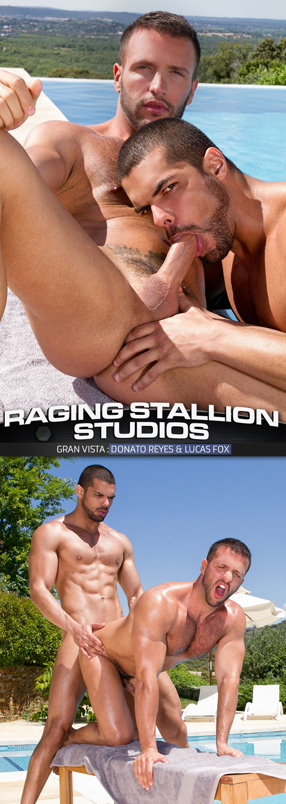 "Raging Stallion: Lucas Fox bangs Donato Reyes in ""Gran Vista"""