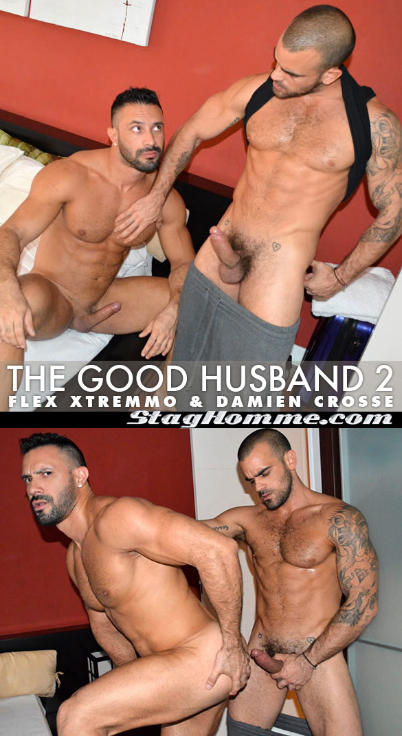"Stag Homme: Damien Crosse pounds Flex Xtremmo in ""The Good Husband 2"""