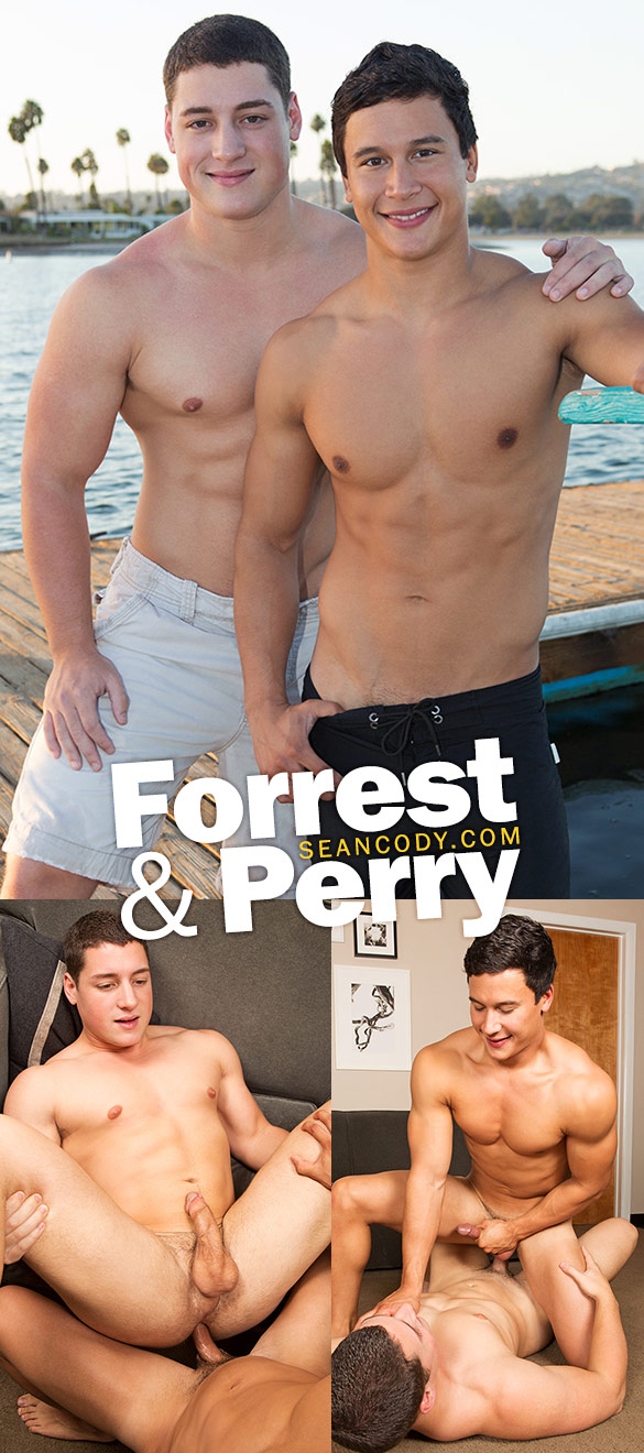Sean Cody: Forrest and Perry flip fuck bareback