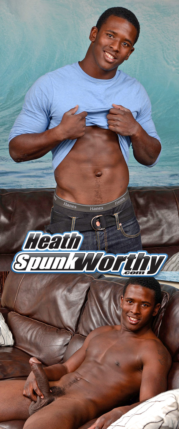 SpunkWorthy: Heath rubs one out