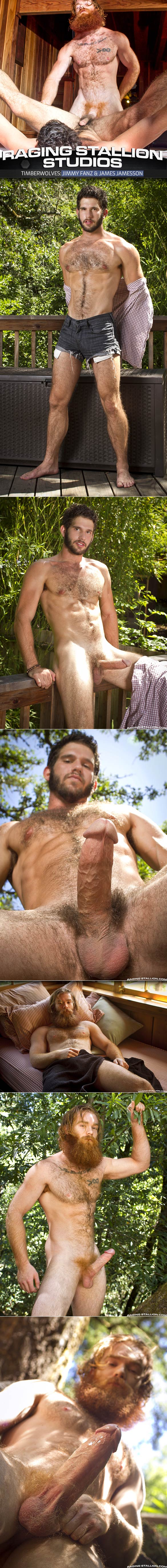 "Raging Stallion: James Jamesson pounds Jimmy Fanz in ""Timberwolves"""
