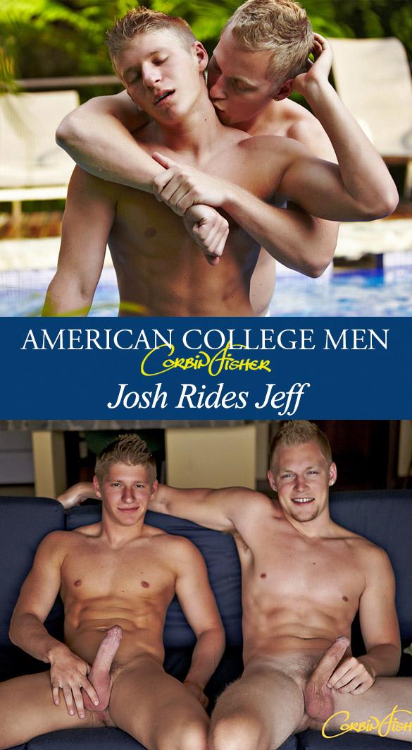 Corbin Fisher: Josh rides Jeff bareback