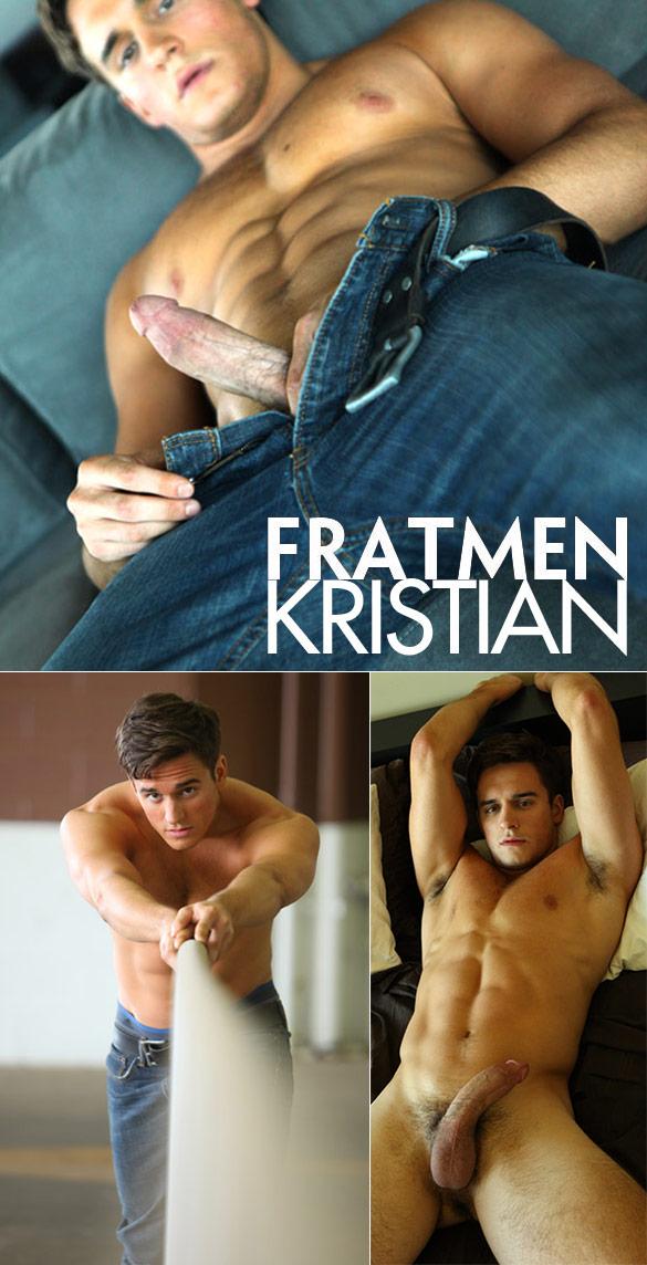 Fratmen: Kristian busts a nut