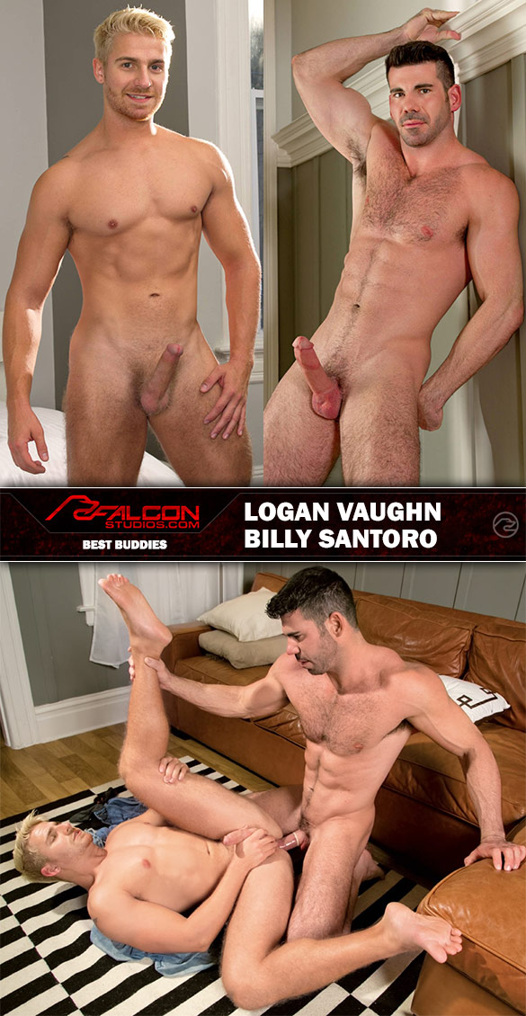 "Falcon Studios: Billy Santoro bangs Logan Vaughn in ""Best Buddies"""