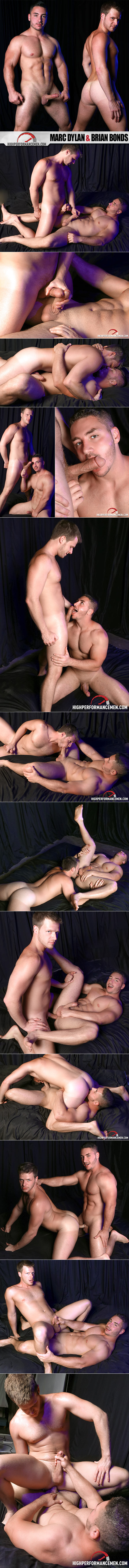"High Performance Men: Marc Dylan and Brian Bonds fuck each other in ""Wet Dream: The Phantom Fuck"""