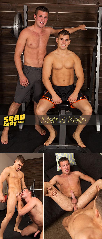 Sean Cody: Kellin barebacks Matt
