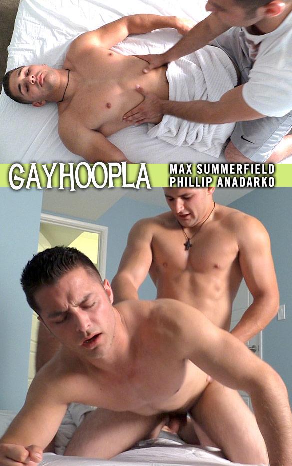 GayHoopla: Max Summerfield fucks Phillip Anadarko