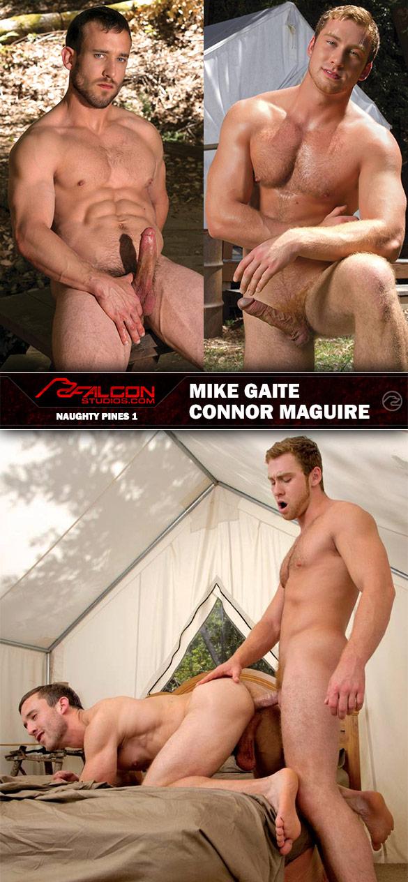 "Falcon Studios: Connor Maguire fucks Mike Gaite in ""Naughty Pines 1"""
