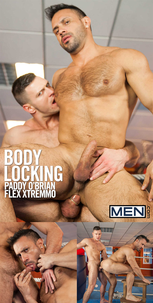 Men.com: Paddy O'Brian pounds Flex Xtremmo in