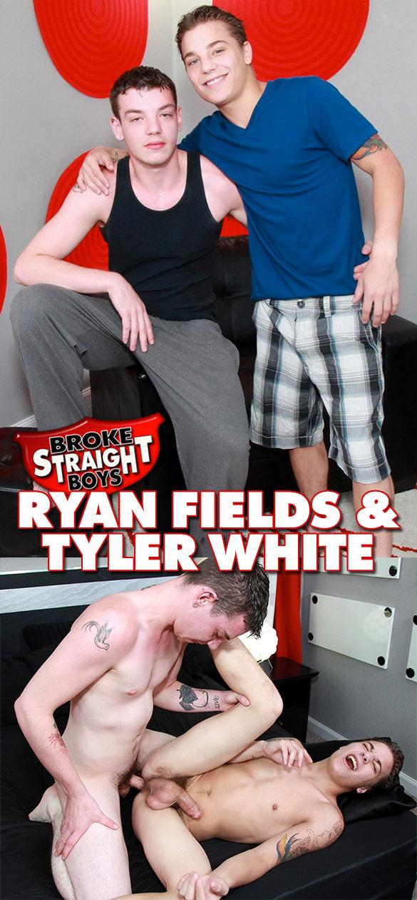 Broke Straight Boys: Ryan Fields fucks Tyler White bareback