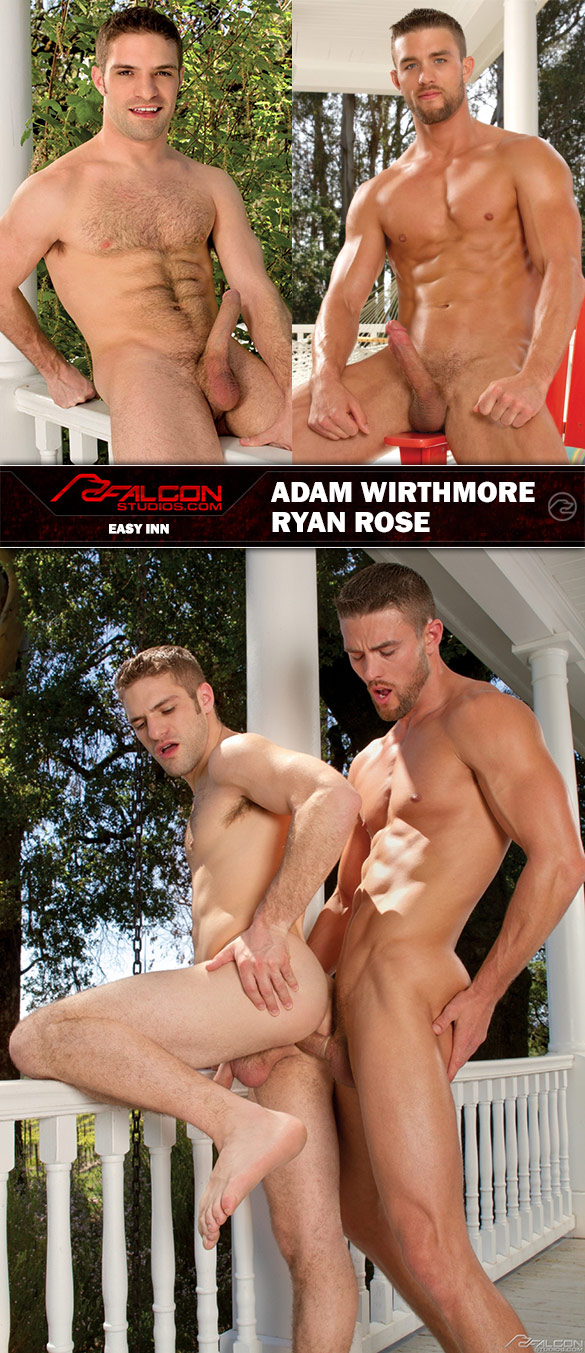 "Falcon Studios: Ryan Rose bangs Adam Wirthmore in ""Easy Inn"""
