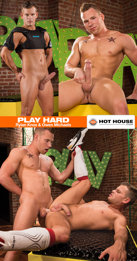 "HotHouse: Owen Michaels fucks Rylan Knox in ""Play Hard"""
