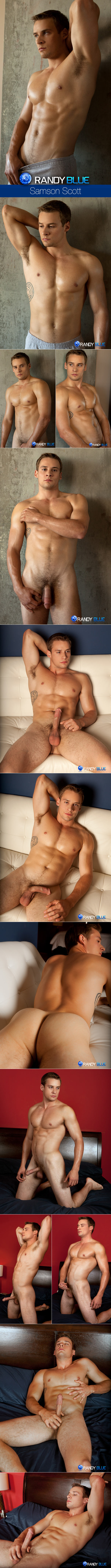Randy Blue: Samson Scott rubs one out