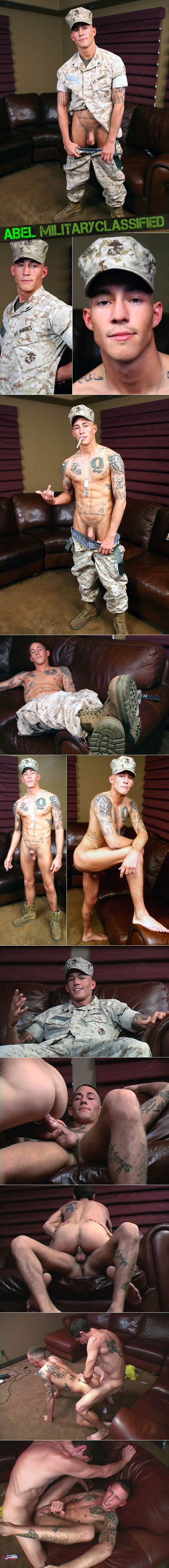 Militaryclassified: Marine Abel gets fucked