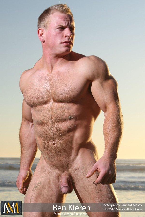 Blonde muscle men pity