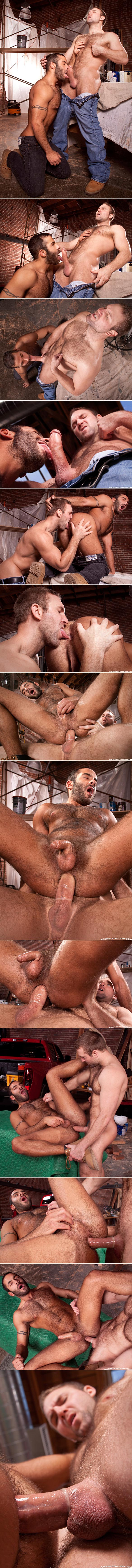 "Raging Stallion: Tom Wolfe bangs Jason Michaels in ""Built Tough"""
