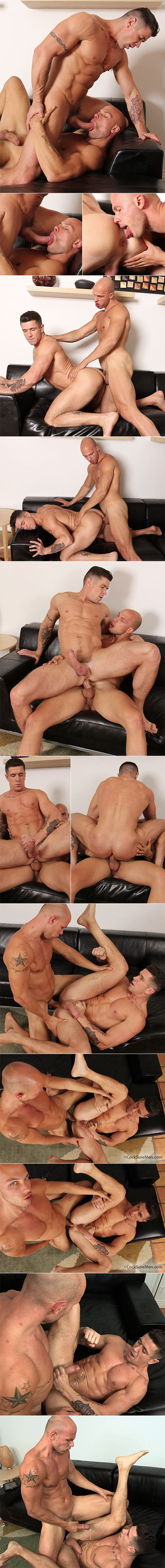 CocksureMen: Angelo pounds Trenton Ducati